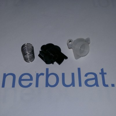 Зубчатый флажок сброса счетчика (пружинка, крышка, шестеренка - флажок) HL-L2300/DCP-L2500, TN-2335